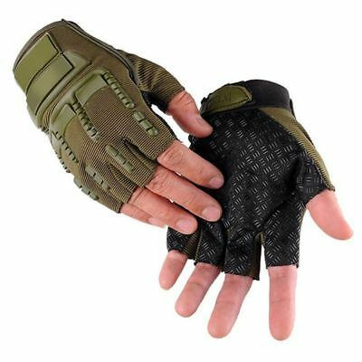 Cycling Gloves Mountain Bike Sport Gel Half Finger Gloves Mitten