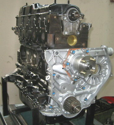 Toyota 2L Hilux Hiace Dyna Late Cam Over - Fully Remanufactured Long Motor
