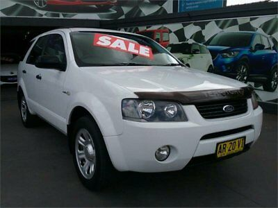 2007 Ford Territory SY TX White Automatic A Wagon
