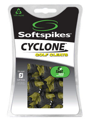 SoftSpikes Cyclone Golf Cleats Fast Twist