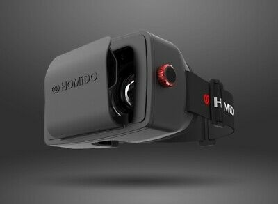 Homido Multimedia Brille 3D Virtual Reality Headset 3D und 360° Videos