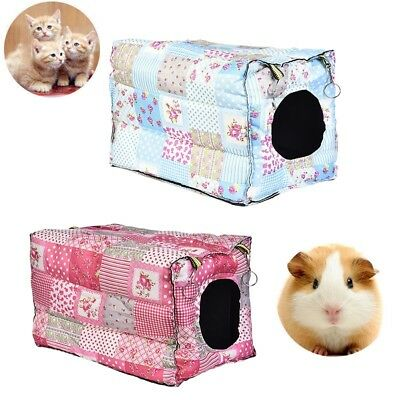Hanging Warm Cotton Pet Hanging Hammock Rabbit Rat Hamster Nest Bed House Cage