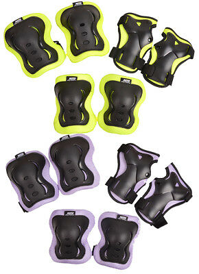 Protective Safety Gear pads skate Guard Elbow Knee Wrist Kids Children XS-M H110
