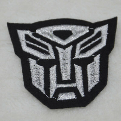 Transformers Embroidered Sew on Iron On Patches Badge Fabric Bag Clothes Appliue