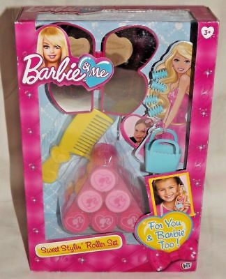 Barbie & Me Sweet Stylin Roller Set New And Sealed (CJ) Free Post