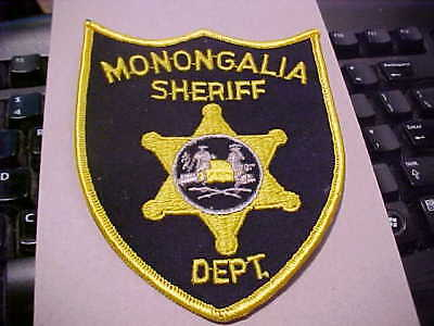 Monongalia County West Virginia Police Patch Shoulder Size New