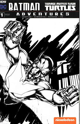 Inked Sketch Cover Comic Commission by Shane Davis Original Art