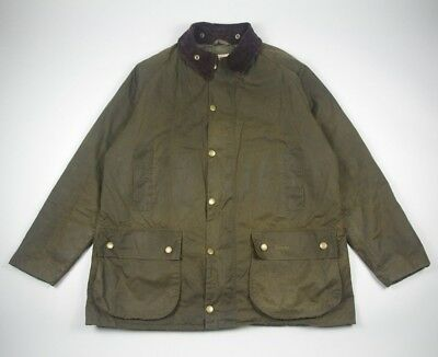 Barbour Men's Gamefair Lining Waxed Coat Jacket XXL 2XL Rare Fishing Hunting