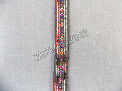 Antiques Folk Bulgrian Hand-embroidered Women's belt for Buckles from Karlovo