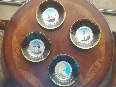 State of Kuwait Collector's Plates (4)