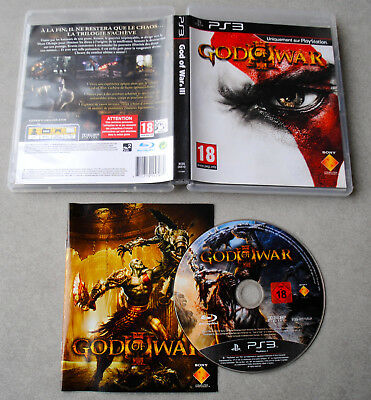 Jeu GOD OF WAR III 3 Version FR pour Playstation 3 (PS3) CD remis à neuf
