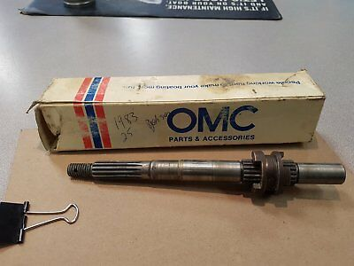 1983 25Hp Johnson Used Prop Shaft #323294 with NEW #325263 Clutch Dog