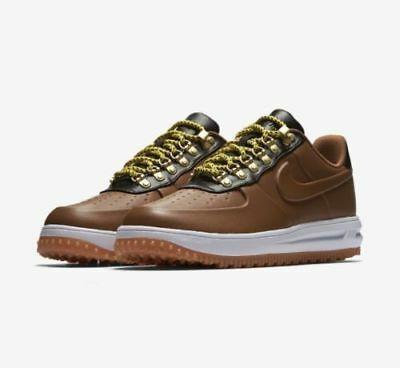 092142fb228c AA1125-200  NIKE LUNAR Force 1 Duckboot Low Ale Brown White Men Boot ...
