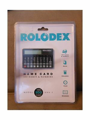 The Name Card By Rolodex Credit Card Sized Electronic Organizer RNA -2 Holds ...