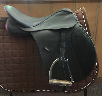 "Used 17"" Black Wintec Dressage Saddle"