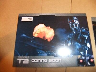 PROMO PREVIEW SET PS1 TERMINATOR 2 PS4-2017 YEARSET