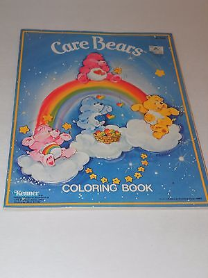 CARE BEARS COLORING BOOK 1982 Kenner Unused Share Your Special Feelings