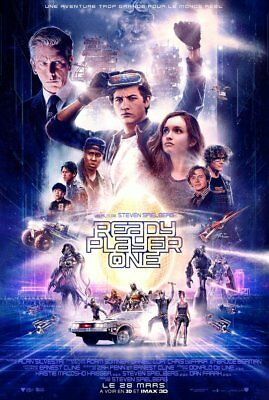 Ready Player One - Affiche cinema 40X60 - 120x160 Movie Poster
