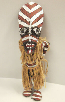 Zimbabwe African Tribal Likishi Masquerade dancer doll Ceremonial