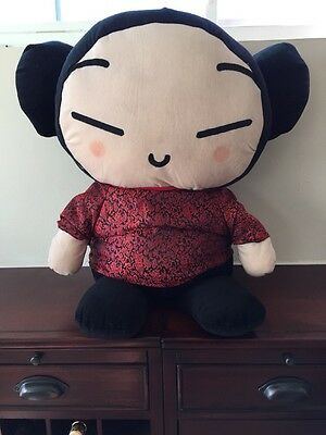 Large Pucca Jumbo Korean Animation Plush Soft Toy Doll by SonoKong