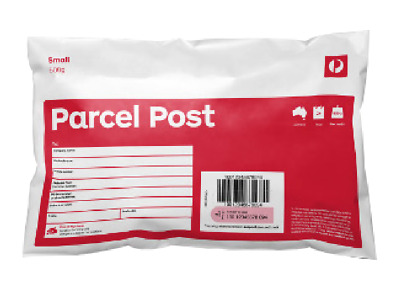 50 x 500g prepaid satchel RED Australia post