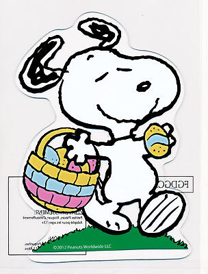 Peanuts Pr*duct W*rks Snoopy Easter Window Cling