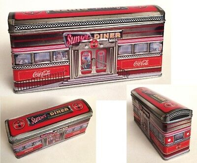 One Coca-Cola Coke Tin The Sunset Diner RR Car The Tin Box Company Licensed