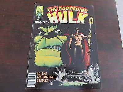 Rampaging Hulk #5 (Oct 1977, Marvel) VF 8.5