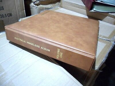 1st Edition Seven seas Australia Hingeless Album Decimal Volumn 1 1966 - 1987