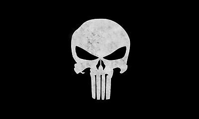Hot Large Flag 3x5 FT The Punisher Flag Banner With Metal Grommets Sale