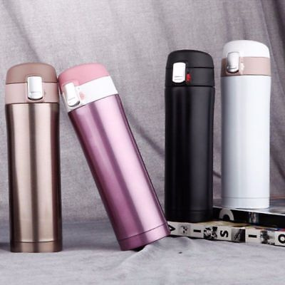 17/12OZ Stainless Steel Mug Thermos Vacuum Insulated Travel Tumbler Coffee Cup