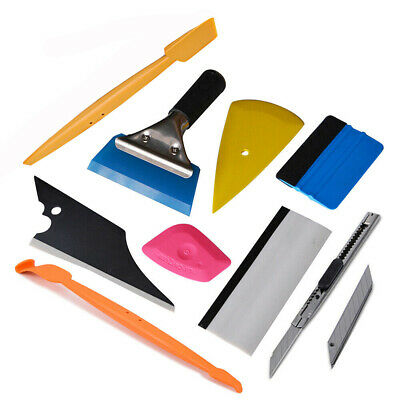 8 PCS Car Film Tinting Tools Kit Vinyl Wrap Applicator Squeegee Felt Cutter USA