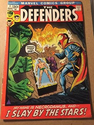THE DEFENDERS #1 (1972) NETFLIX SERIES!  KEY!  FN Free Shipping!!!