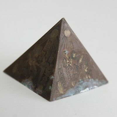 GERMANY or EGYPT | Bronze Pyramid top Masonic or Egyptian revival, 19th century
