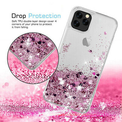 Liquid Glitter Water Stars Bling Sparkly Case Cover For iPhone X XS Max 6 7 8 +