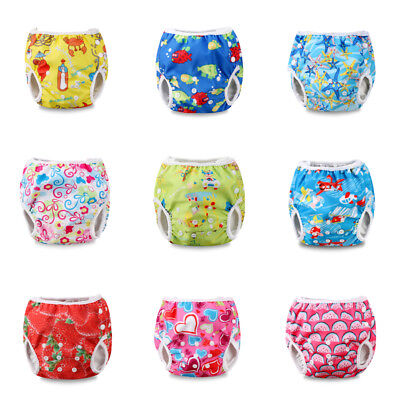 Summer Swim Diaper Nappy Pants Reusable Adjustable Infant Baby Boy Girl Toddler