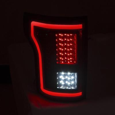 ANZO LED Taillights Smoke For 2015 2017 FORD F 150