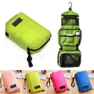 Travel Makeup Bag Toiletry Case Cosmetic Wash Organizer Storage Hanging Pouch