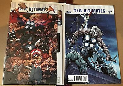 Ultimate New Ultimates #1,4 (May 2010, Marvel) FN,VF
