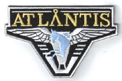 Stargate Atlantis TV Series Screen Accurate Pegasus Logo Embroidered Patch NEW