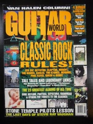 Guitar World Magazine 1993 Oct CLASSIC ROCK RULES LED ZEPPLIN SKYNYRD MORE