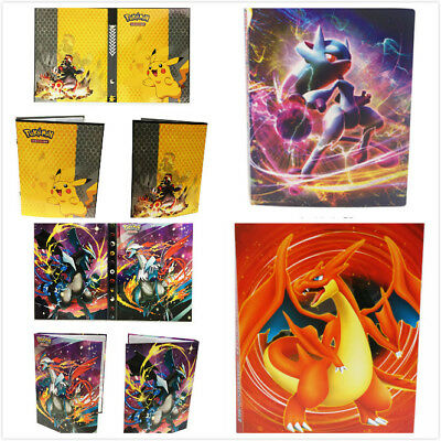 Pokemon Cards Album Book List Collectors Folder 112Pcs Capacity Card Holder Gift