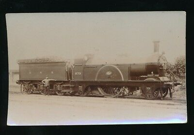 Railway GNR Great Northern Railway engine No 873 Single Express c1900/10s?RP PPC