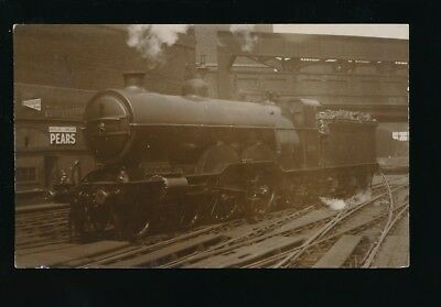 Railway GNR Engine #274 Kings Cross pre1919 RP PPC by Pouteau