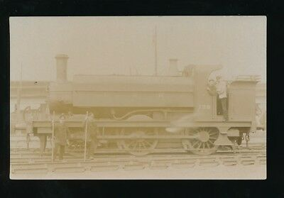 Railway GNR Great Northern Railway tank engine #139 c1900s? RP PPC by Pouteau
