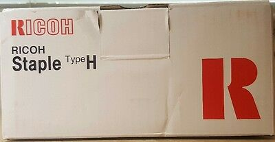 Genuine Ricoh 410508 Type H Staple Cartridge - Box of 1 - New in Factory Box
