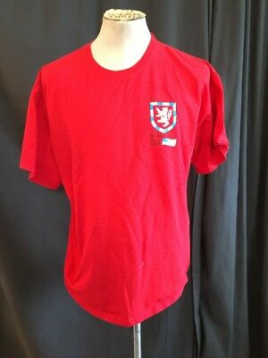 The Society Of William Wallace Usa Red Crest T Shirt Adult Mens Xl Braveheart