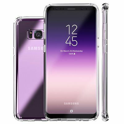 For Samsung Galaxy S8/9+ 360° FULL BODY PROTECTION CLEAR Gel Silicone Case Cover