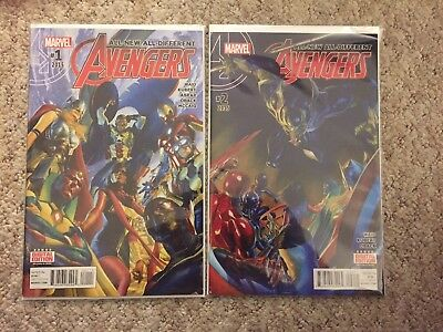All-New All-Different Avengers #1-2