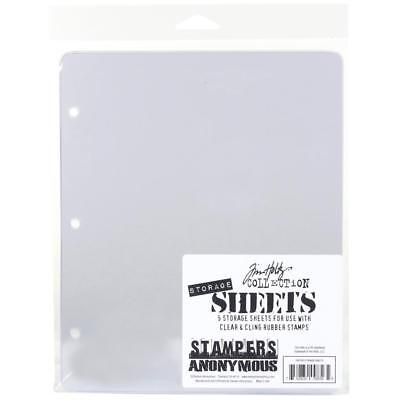 Tim Holtz Stamps ~ STORAGE SHEETS ~ Stampers Anonymous